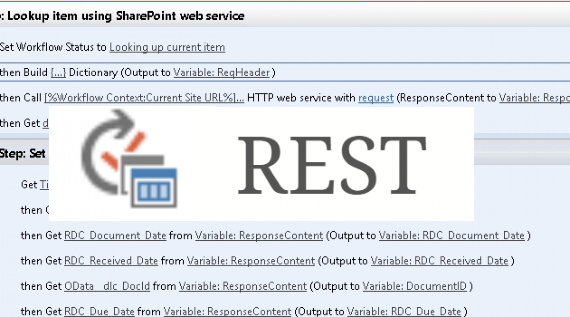 Showcase: SharePoint 2013 Global Reusable Workflow using REST